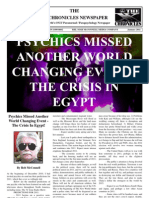 The 'X' Chronicles Newspaper - January 2011