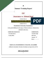 insurance vs mutual fund