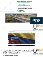 Analisis de la gestión contractual. - CIPAS