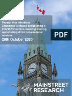 Mainstreet Canada 28october2020