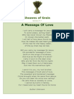 A Message Of Love - Sheaves of Grain - 61