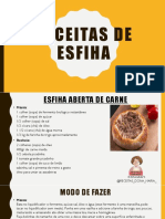 RECEITAS DE ESFIHA