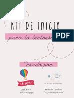 Kit de Inicio Lectoescritura