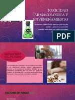 toxicidad farmacológica y envenenamiento.pptx