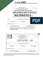 SIMULACRO #4 BXM 01-2019 (EDAD Dic 2018)