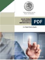 VALOR PROBATORIO DE LOS DOCUMENTOS DIGITALES EMITIDOS EN EL JUICIO EN LINEA.pdf