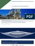 Automação e Controle de Processos - Sistemas de segunda ordem