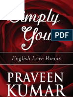 SIMPLY YOURS - Bouquet of English Love Poems