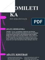 PPT KHOTBAH HOMILETIKA