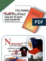 12 Little Things Presentation