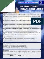 GRAN CONFLICTO LECCION 2
