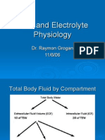 Fluid and Electrolyte Physiology