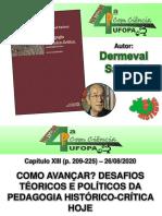 Live - Quarta com Ciência - 26 08 2020 - Cap. 13 - Duci Matos e Roberto Maia