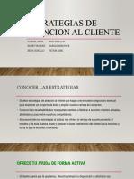 ESTRATEGIAS DE ATENCION AL CLIENTE