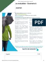 Examen_ Actividad de puntos evaluables - Escenario 6 intento II