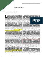 GONZALEZ DE LEON, Teodoro  - Arquitectura y política