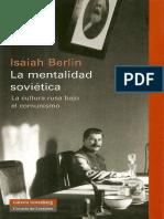 La Mentalidad Sovietica - Isaiah Berlin