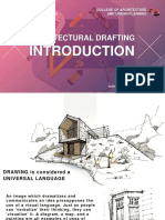 Architectural Drafting - Lecture 1 - Introduction to Drawing and Drafting