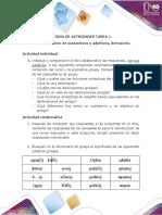 Actividades - Tarea 1 - Declinar sustantivos y adjetivos, derivación (1)
