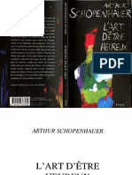 Arthur Schopenhauer-L'Art d'Etre Heureux-Seuil