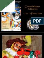 Carnaval vénitien Rosheim