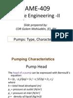 Lecture 4_Pump Characteristics