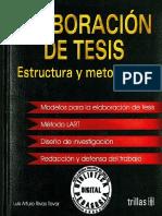 ELABORACIÓN DE TESIS. ESTRUCTURA Y METODOLOGÍA.pdf