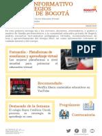 Boletin Informativo para Colegios Privados de Bogota - No.1