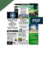 February 6 2011 Newsletter HALFVersion