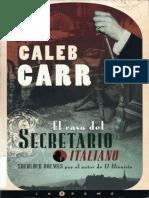 El Caso Del Secretario Italiano - Caleb Carr.pdf