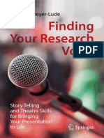 Cohen, I., & Dreyer-Lude, M. (2019). Finding Your Research Voice