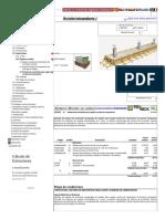 Precio en Bolivia de m² de Sistema de encofrado para zapata corrida de cimentación. Generador de precios de la construcción. CYPE Ingenieros, S.A.