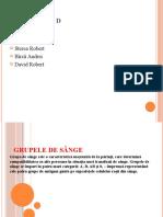 GRUPA DE SANGE-9D