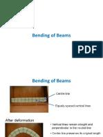 Bending of Beams-handout