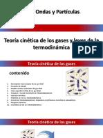 TEORIA CINETICA DE LOS GASES Y LEYES DE LA TERMODINÁMICA