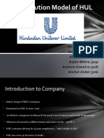 Distribution Model of HUL