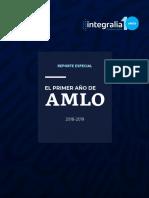 Integralia Consultores - Reporte especial sobre el primer año de AMLO (29.11