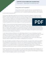 10 - Développer le marketing client - Transcript