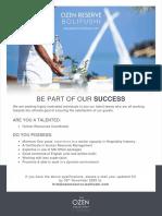 ORB Job Advert - 28 October 2020