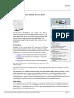 Cisco 1252 Acvcess point  Data sheet