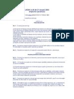 VII Legea nr. 46 per 2003