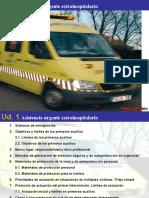 UD1. PRIMEROS AUXILIOS