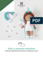 AVA, the unicorn girl - MariaHMD_Portuguese.pdf