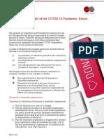 Donations towards COVID-19 Response - Income Tax, Kenya.pdf