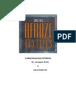 AFroze Textile