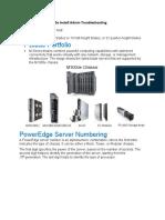 Dell M1000e Install Admin Troubleshooting