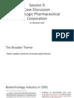 Immulogic Pharmaceutical