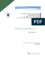 DIDATICA DE QUIMICA II
