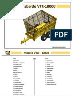 Manual Técnico e Peças VTX-10.000 - Freio ADR - TMA
