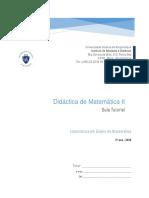 GUIA TUTORIAL - Didactica de Matematica II 2020
